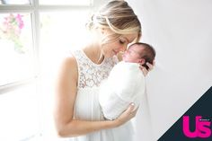 Ali Fedotowsky and baby Molly