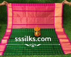Pure Organic Kuppadam Pattu Saree Kuppadam Pattu Sarees, Latest Silk Sarees, Organic, Pure Products