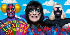 Noel Fielding's Luxury Comedy -     I was able to download the whole season and I got hooked. Noel Fielding is a genius! :D