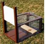 #homestead #Rabbits - how to build Ray's Rabbit Trap