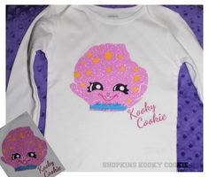 Shopkins custom shirt by TheLittleQueen on Etsy Moose Toys Shopkins
