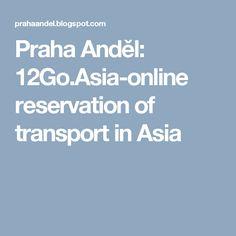 Praha Anděl: 12Go.Asia-online reservation of transport in Asia