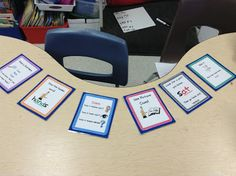Secondgradealicious: Freebie!! Updated Guided Reading Table Posters