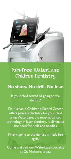 Pain-free Waterlase at Dr. Michael's Dental Clinic in Dubai