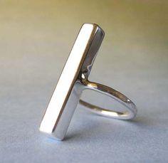 Modern Bar Ring