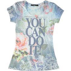 T-shirt YOU CAN DO IT! Artigli - € 19,90. Fino al 31 agosto la trovi scontata del 30% e la paghi solo € 13,93. | Visita il nostro e- commerce www.nico.it