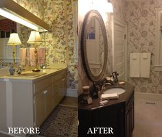 A renovated bathroom done by Berry Home Centers!