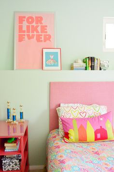 House Crashing: Sisterly Digs | Young House Love - Valspar Lazy Days paint