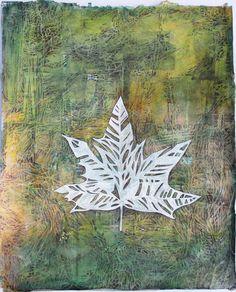'Woodstock Leaf' is a mixed media artwork by environmental artist Janet Botes, 30 x unframed. Early American, American Art, Mixed Media Artwork, Buy Art Online, Woodstock, Online Art Gallery, Moose Art, Original Art, Abstract Art