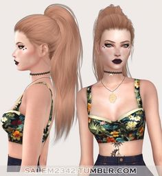 Stealthic Paradox Hair Retexture at Salem2342 via Sims 4 Updates