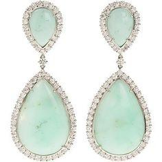 mint green jewelry for weddings | Mint Green and Peach WeddingConfetti Daydreams – Wedding Blog