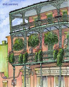 Tommy Kane's Art Blog: The Big Easy