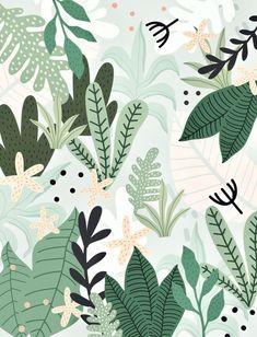 New palm tree drawing design art prints ideas Art And Illustration, Leaves Illustration, Illustration Inspiration, Pattern Illustration, Design Illustrations, Tree Patterns, Flower Patterns, Design Patterns, Pattern Ideas