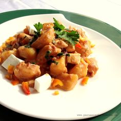 Ajiaco de papas – Würziges Kartoffel-Käse-Gericht peruanischer Art. Rezept und Fotos: http://peruanische-kueche.de/ajiaco/ Kochen wie in Peru.