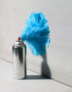 Horacio Salinas, an Argentinean photographer, based in New York, who finds inspiration in ordinary objects #berryblue