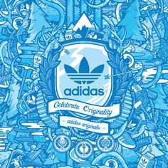 Adidas Originals Drowned Harbor / Jared Nickerson by &Reach Management, via Behance