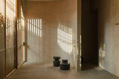 Lattice Screen, Patio Interior, Interior Design, Solar Shades, Urban Fabric, Concrete Structure, Roof Plan, Rooftop Terrace, Ground Floor