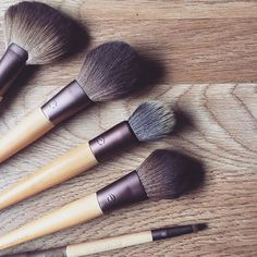 EcoTools supplies pretty much anything you'd need to get started applying your makeup like a pro, and the incredibly soft bristles, sleek bamboo handles, and recycled aluminum ferrulesdon't hurt, either. The 100-percent cruelty-free and eco-friendly ethos will make you feel good about putting your...