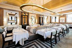 12 NYC Restaurants Serve Up Hot Design   Project: Vaucluse. Firm: Meyer Davis. Site: Upper East Side.