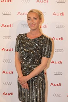 Actress Asher Keddie before the Collette Dinnigan Resort 13 runway show at Audi Hamilton Island Race Week.    Photography: Andrea Francolini / afrancolini.com