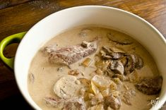 Paleo Beef Stroganoff - This recipe is awesome!!! I have missed stroganoff, but no more. :D