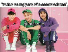 Minha rap line♥♥♥ Bts Memes, Funny Memes, K Pop, Yoonmin, Shop Bts, Frases Bts, Rap Lines, Perfect Boy, I Love Bts