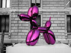Jeff Koons´ Balloon Dog, Palazzo Grassi, Venezia (Italia) | 15/05/2006