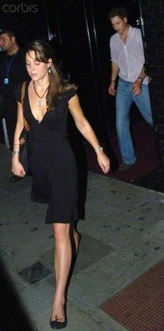 September 14th, 2005 - Kate and William were spotted leaving the nightclub ManjiManji together. William, several steps behind Kate.