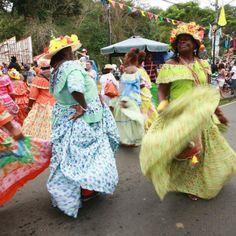 La fiesta negre macha de Portobelo  | Revista Ellas | Panamá Festival de la Pollera Congo