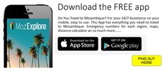 Get Your Free Mozambique Travel APP!! 24/7 Emergency Info Traveling By Yourself, Free Apps