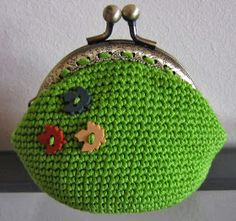 witchnofret handcraft: Fall Crochet Purse (purse pattern improved version)