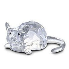 Swarovski Crystal ZODIAC RAT Figurine Retired NEW Mint (04/07/2010)