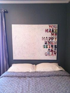 DIY Quotes on Canvas DIY Wall Art DIY Home Decor