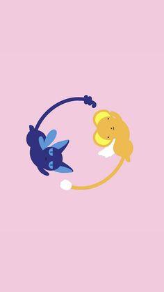 Kawaii Wallpaper, Cartoon Wallpaper, Iphone Wallpaper, Kero Sakura, Cardcaptor Sakura, Geeks, Sakura Card Captor, Cute Patterns Wallpaper, Sailor Moon Wallpaper
