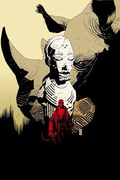 Hellboy #01 Makoma//Mike Mignola/M/ Comic Art Community GALLERY OF COMIC ART