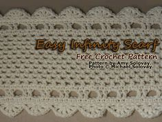 Have Fun With This Crochet Infinity Scarf Free Pattern