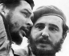 .Che Guevara and Fidel Castro