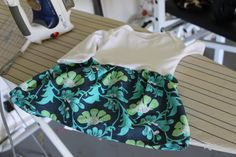 """Hello, when you read this DIY you will be like """"That's it, I'm buying a sewing machine."""" SO SIMPLE. It's a onesie with a skirt around it, cute AND comfy:Find out how t…"""