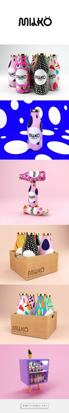 Milkö Milk Packaging by Giovani Flores | Fivestar Branding Agency – Design and Branding Agency & Curated Inspiration Gallery