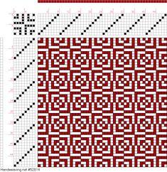 draft image: Figure 411, A Manual of Weave Construction, Ivo Kastanek, 8S, 8T