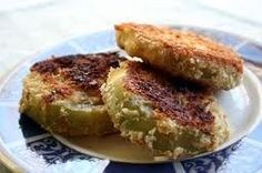 Fried Green Tomatoes - Traditional Cherokee Native American Dish
