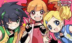 Powerpuff Girls Z :D