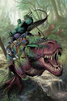 #Hulk #Fan #Art. (IDTBL Hulk-12 Cvr 02) By: Nisachar. [THANK U 4 PINNING!!]