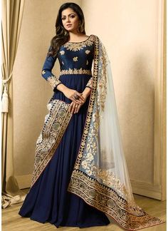 Looking to buy Anarkali online? ✓ Buy the latest designer Anarkali suits at Lashkaraa, with a variety of long Anarkali suits, party wear & Anarkali dresses! Indian Gowns, Pakistani Dresses, Indian Wear, Indian Outfits, Eid Dresses, Fashion Mode, Abaya Fashion, Indian Fashion, Fashion Dresses