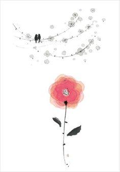 마음수양_두번째 먹그림 작업들 : 네이버 블로그 Art Floral, Korean Fonts, Japanese Goldfish, Japanese Waves, Japanese Nail Art, Trendy Nail Art, Christmas Nail Designs, Pretty Pictures, Love Art