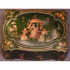 Coffret décor de chinoiserie, époque Napoléon III
