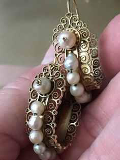 Your place to buy and sell all things handmade Mexican Jewelry, Decorative Borders, Pearl Earrings, Brooch, Trending Outfits, Unique Jewelry, Handmade Gifts, Victoria, Vintage