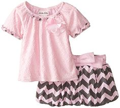 Little Lass Baby Girls 2 Piece Scooter Set Bubble Pink 12 Months -- For more information, visit image link.