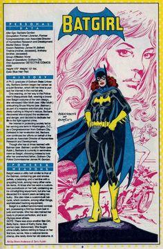 Batgirl-Barbara Gordon