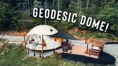 Luxury Glamping, Camping Glamping, Camping Ideas, Bubble Tent, Geodesic Dome Homes, Tent Design, Dome House, Dome Tent, Exterior